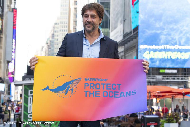 绿色和平三位全球海洋大使呼吁保护海洋