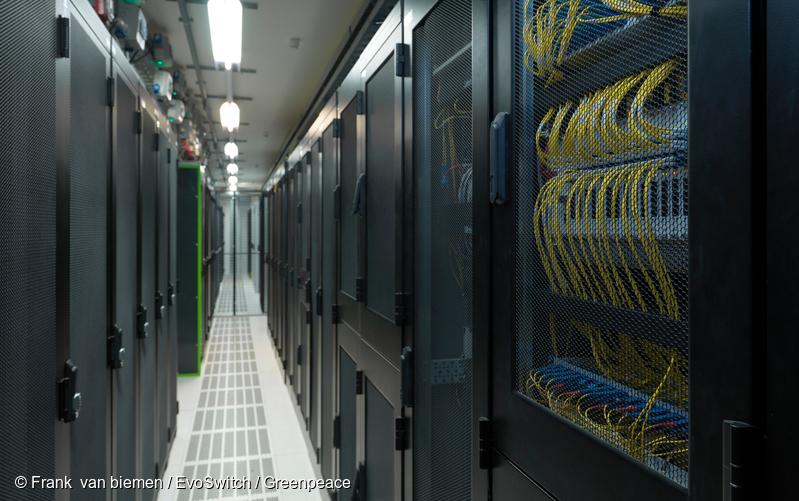 最新报告   绿色和平呼吁中国互联网科技行业设立100%可再生能源目标