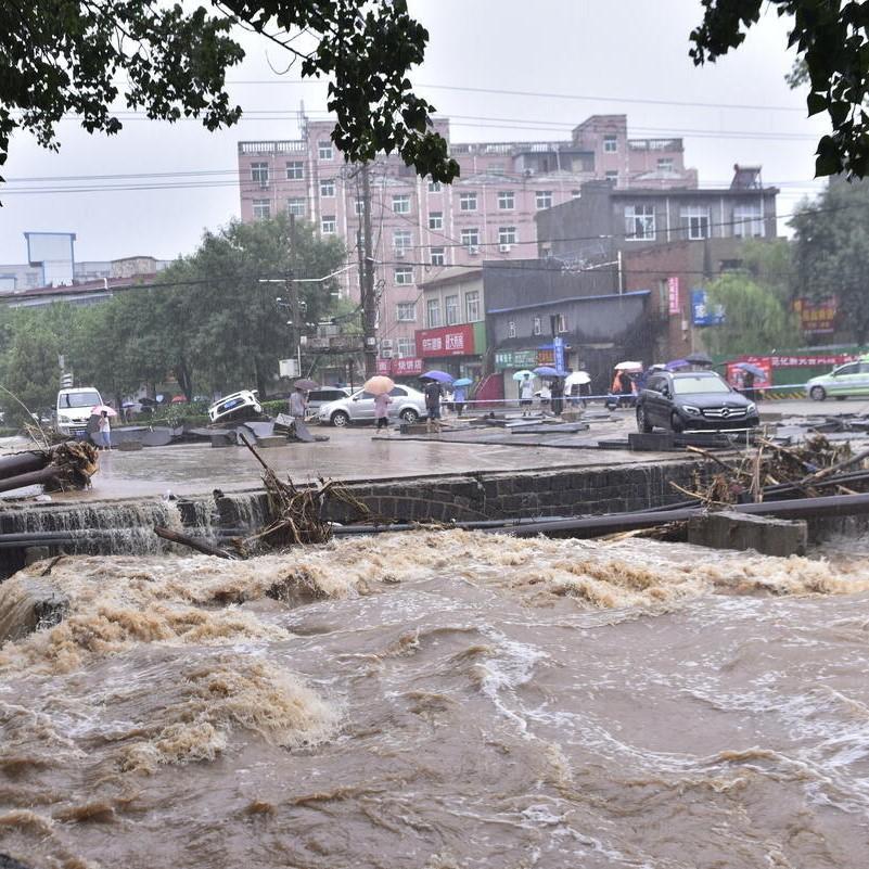 与洪共存 | 面对极端降水,城市何去何从?